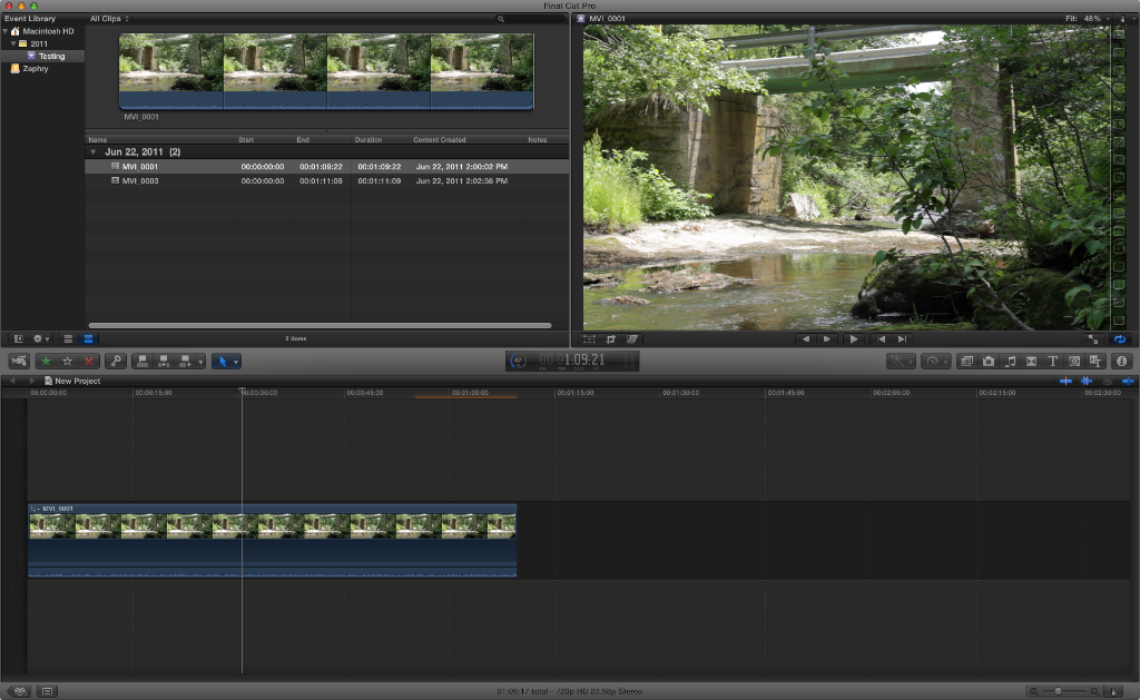Final Cut Pro X First Look Review