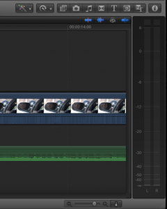 Final Cut Pro X Meters