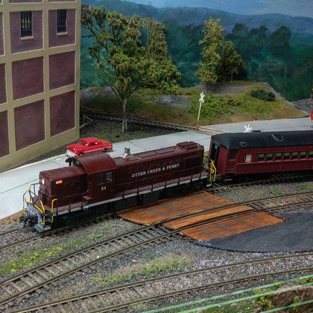 Running the Otter Creek railroad with an alco today modeltrainshellip